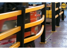A-Safe barriers spring back into shape after a collision, greatly reducing the need for damage repairs