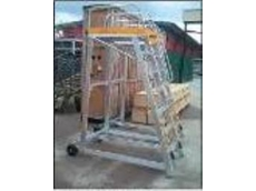 Custom made aluminium access from Materials Handling
