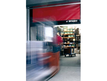 Flexible industrial doors for high speed high traffic areas  sc 1 st  Ferret & DYNACO Self-Repairable High Speed Roll-Up Industrial Doors from ...