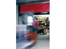 Flexible industrial doors for high speed, high traffic areas