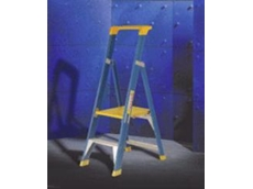 Industrial platform steps available from Materials Handling