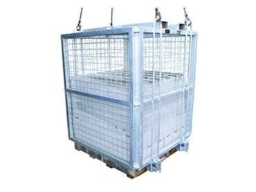 Safety brick cage for the construction industry