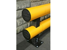 A-Safe double rail traffic barriers protect valuable resources by repelling wayward vehicles
