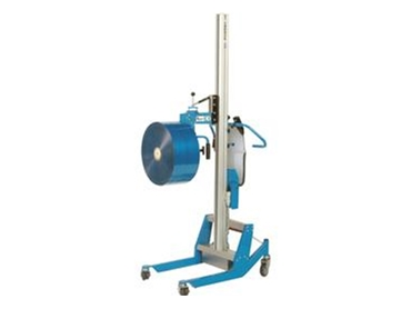 A mobile reel/roll lifter and rotator