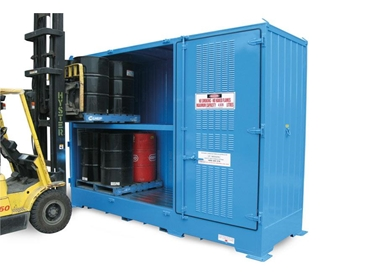 Relocatable dangerous goods stores