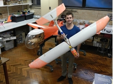Daniel Wilson used MathWorks' Simulink Software to develop his winning entry 'Skymaster'