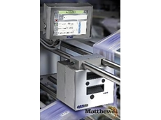 Matthews' new Linx thermal transfer overprinter range is ideal for coding onto flexible film packaging, labels or gloss card.