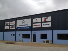 The new MaxiPARTS Lavington premises