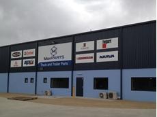 The new MaxiPARTS Lavington premises