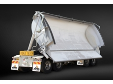 AZMEB Bulk Transfer Systems will be displaying its innovative door side tipper at the Brisbane Truck Show in May 2013