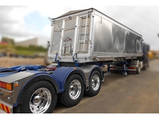 Lusty EMS' Lead Slider on display at the Brisbane Truck Show has a low tare weight, giving it a higher load capacity for operators