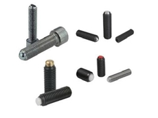 Ball Pressure Screws and Spring Plungers