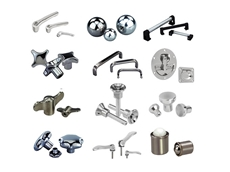 Stainless steel hardware for boat builders