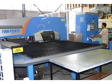 E5x cuts the time at Servgas Sheet Metal