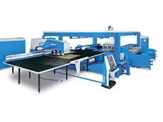 The FINN-POWER LC6 automated coordinate table laser cutting machine