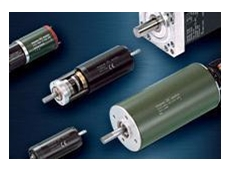 DC motors with moving coil rotors