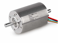 The 40mm diameter brushless DC motor