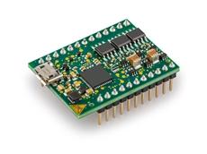 Small DC servo motor controller