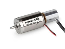DCX servomotor with high resolution encoder
