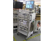 MayTec designed a hospital trolley using 'cleanroom' profiles