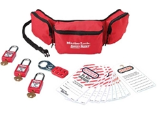 Personal Lockout Pouch from the Master Lock Safety Series
