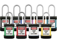 Master Lock Safety Padlocks from Mayo Hardware