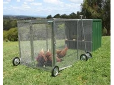 Poultry Pen from McCallum Made Chicken Tractors