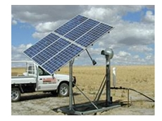 Cascade solar water pumps