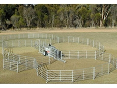 McDougall portable sheep yards can be erected in 25 minutes
