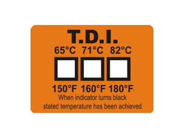 temperature and Measuring Strips and Labels offering clear indications