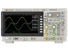 A Keysight oscilloscope