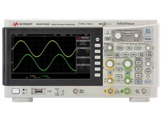 New Keysight DSOX1102A oscilloscope with 2 analogue channels