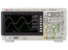 New Keysight EDUX1002A 50 MHz oscilloscope with two analogue channels