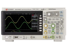 New Keysight oscilloscope with function generator