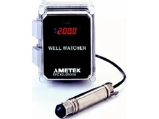 Well Watcher hydrostatic pressure level measurement system
