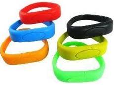 USB wrist bands