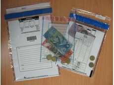 Security cash bags from Mega Fortris Australia