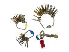 Security key rings