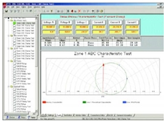 Advanced Visual Test Software 3.1 for relay testing with Megger MPRT relay test set
