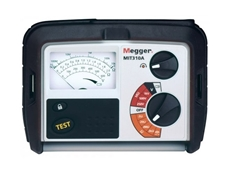 Megger's MIT310A analogue insulation resistance tester