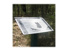 Interpretive Signs services available from Metal Sign and Label