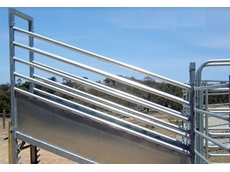 Steel Livestock Loading Ramps by Metalcorp