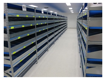 Shelves designed for commercial applications