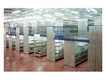 Shelves designed for warehouses