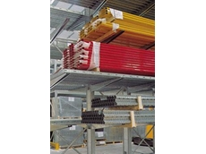 Supercant cantilever racking is produced from high tensile Sendzimir galvanised steel