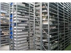 Unirack high rise shelving offers double the shelf strength when compared with other shelving systems