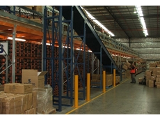 A Super 6 mezzanine floor was installed over existing structures at the Fastline site