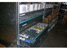 High density metal drawers can be incorporated into storage systems for better use of space