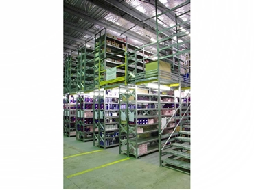 Metalsistem's industrial shelving and storage solutions