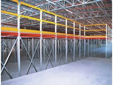 Multi-tiered mezzanine storage from Metalsistem Australia